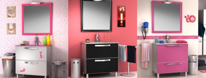 Modelos muebles de baño Mara Diana (aluminio)